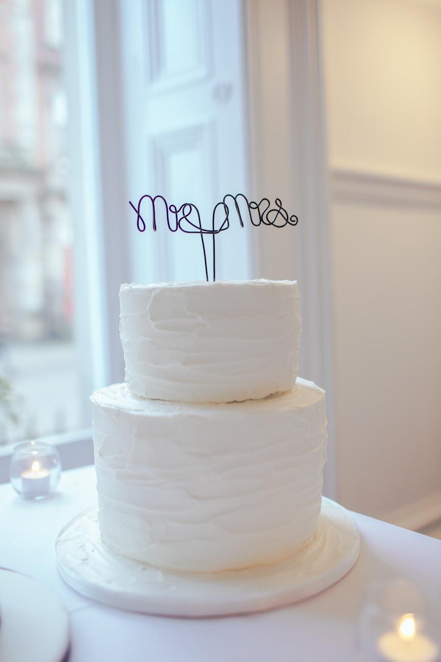 ideeën voor bruidstaart