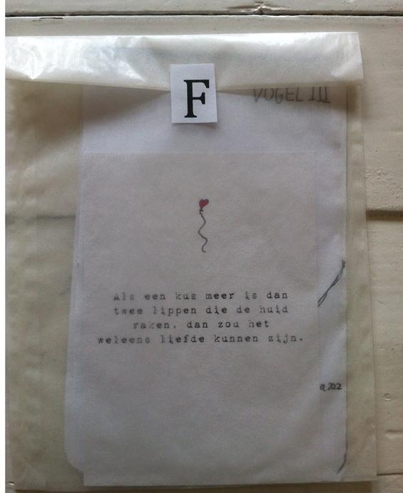 Doe eens een gedicht of dichteres cadeau