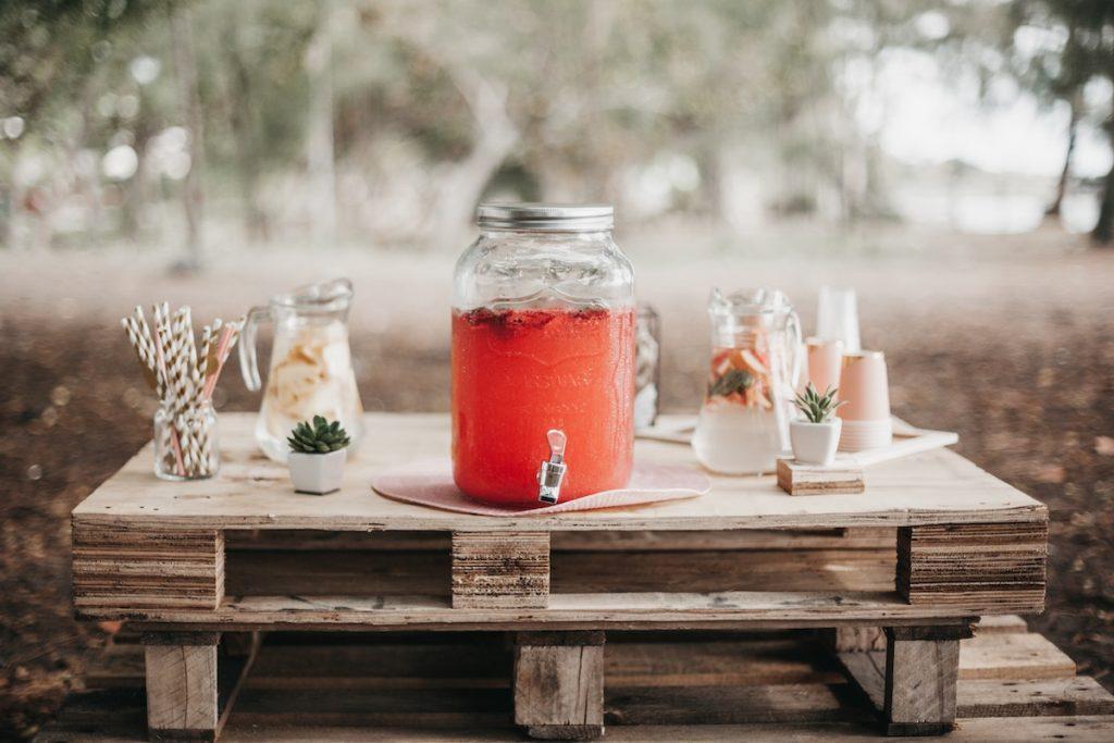 Limonadetap op je bruiloft