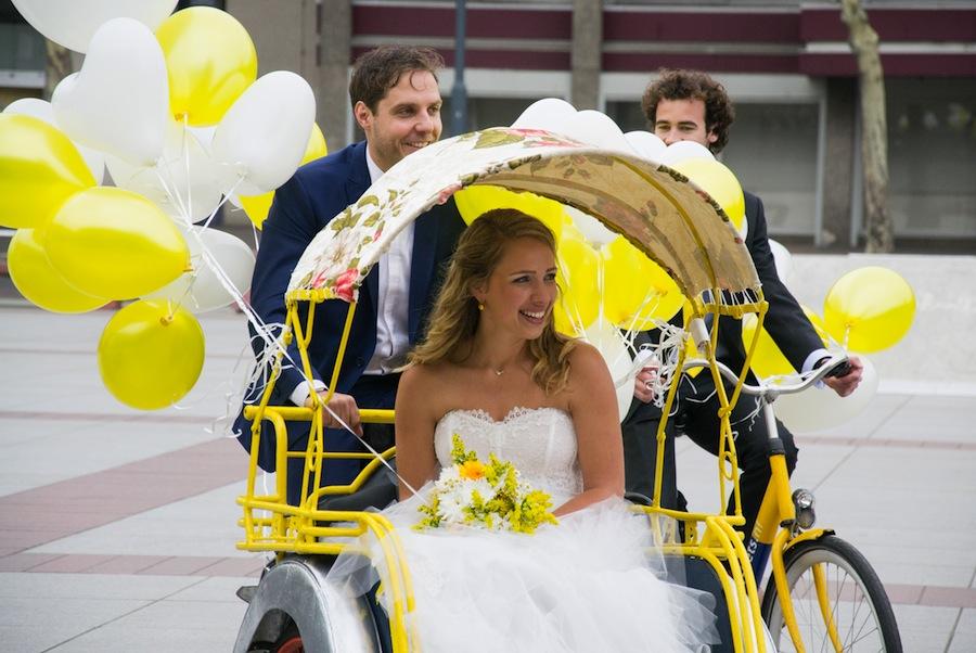 riksja huren bruiloft