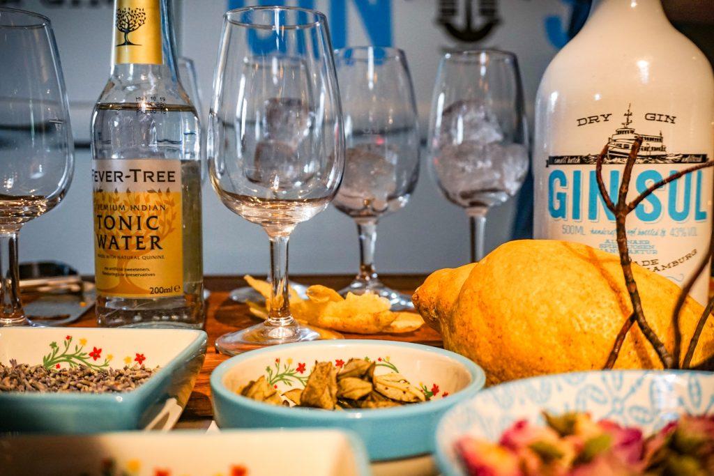 Gin-tonic bar op je bruiloft