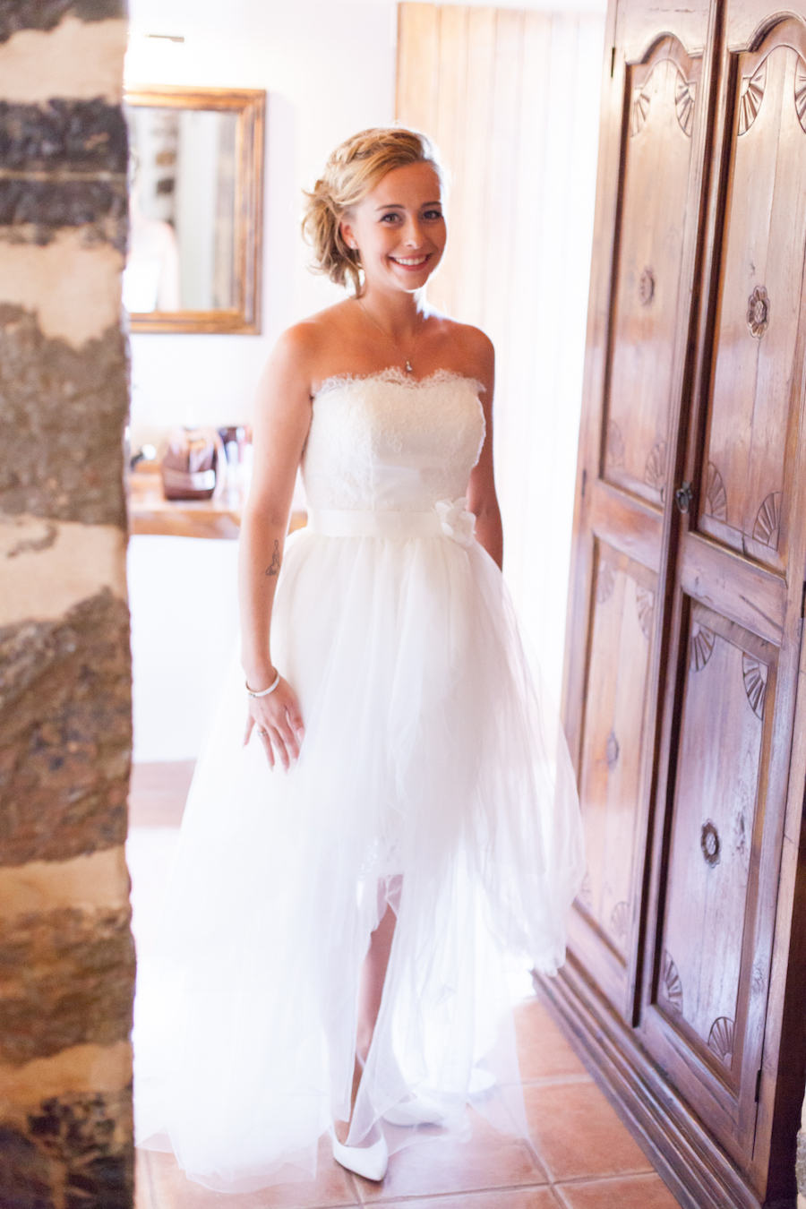 2 in 1 trouwjurk / Trouwen op Ibiza