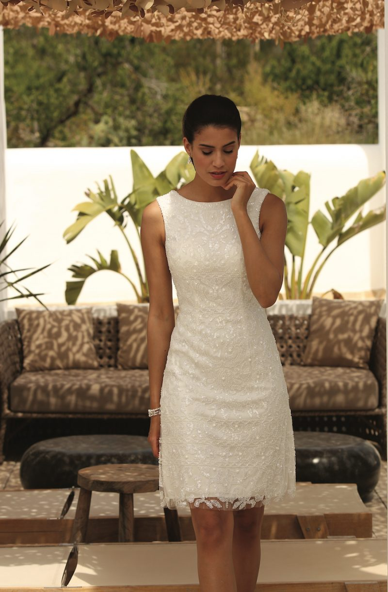 casual trouwkleding