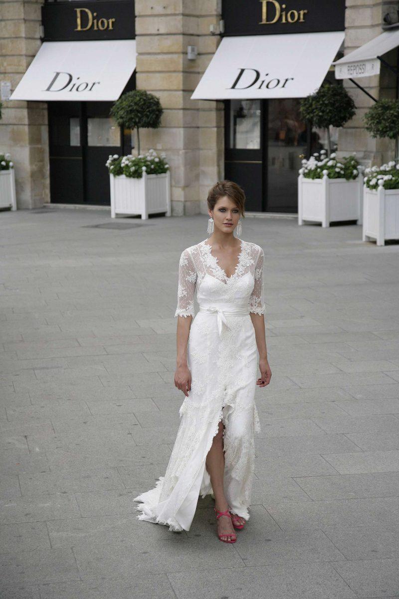 Trouwjurk 2e Huwelijk.Trouwjurk Oudere Bruid Of Dames Voor Tweede Huwelijk 50 Plussers