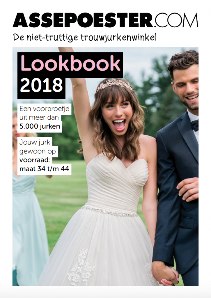 lookbook bruidscollectie 2018 assepoester in arnhem