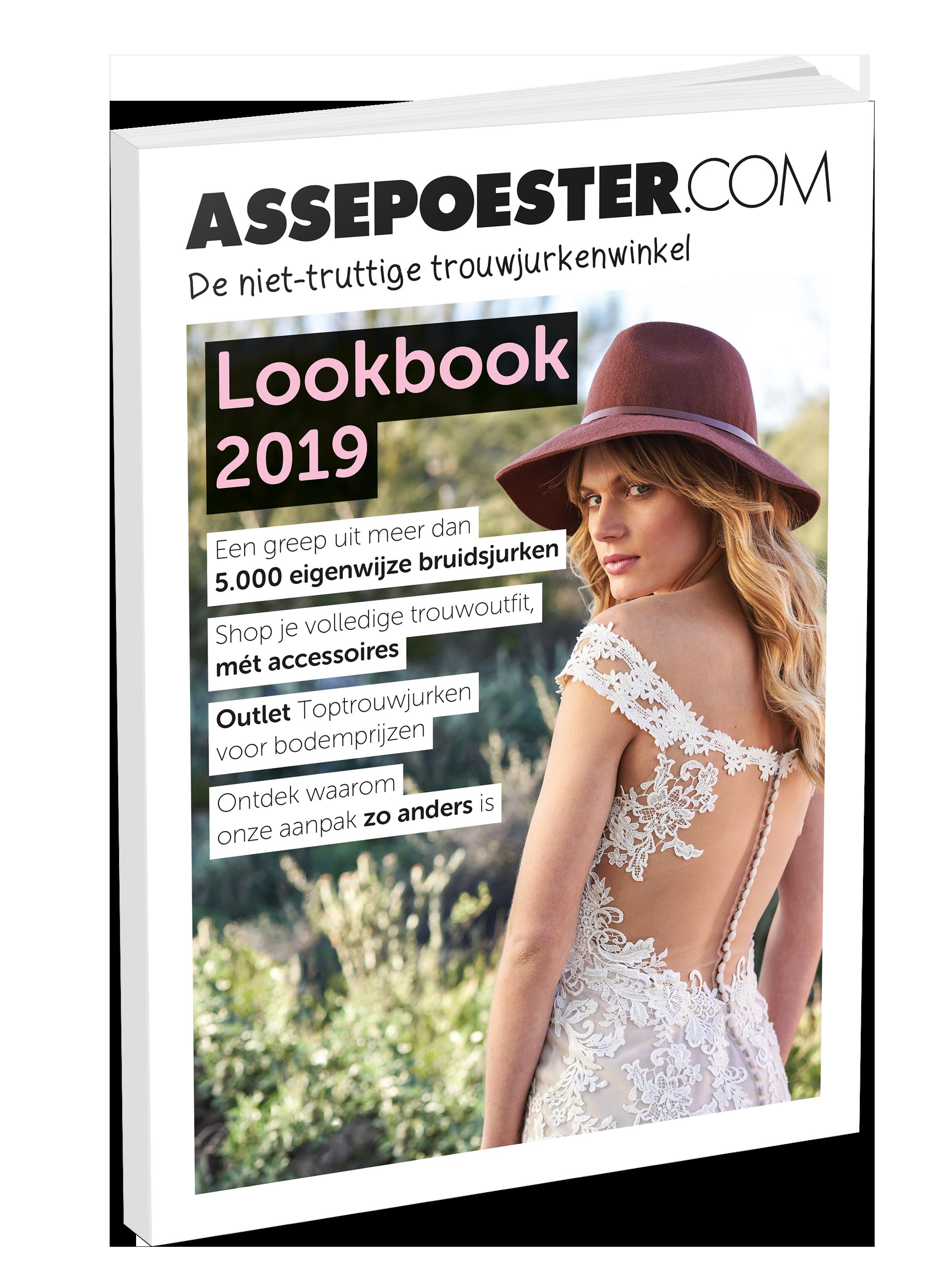 Lookbook bruidscollectie voor 2019 van Assepoester