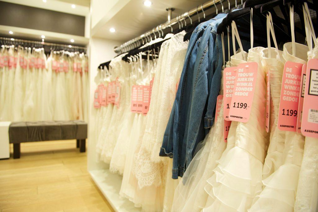 Prijzen trouwjurken Assepoester