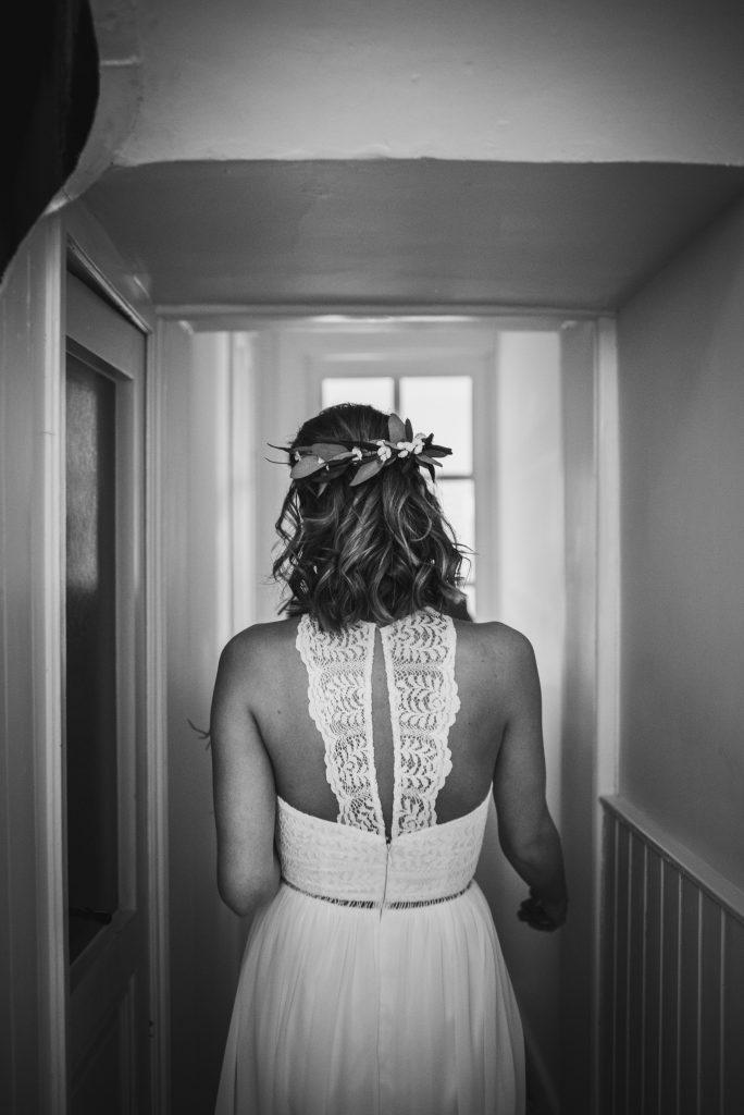 niet traditionele trouwjurk Assepoester