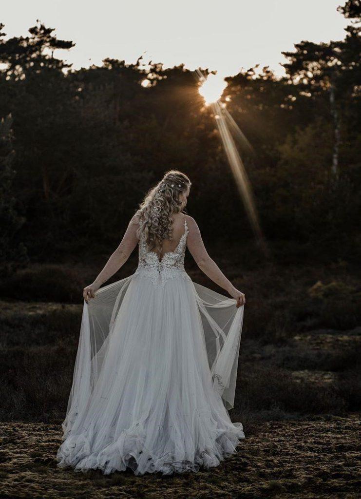 trouwen in coronatijd Assepoester