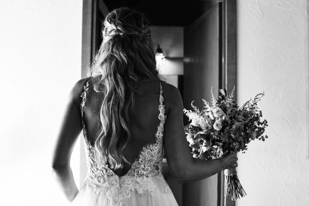 Sanne bohemian festival bruiloft bohemian trouwjurk Assepoester