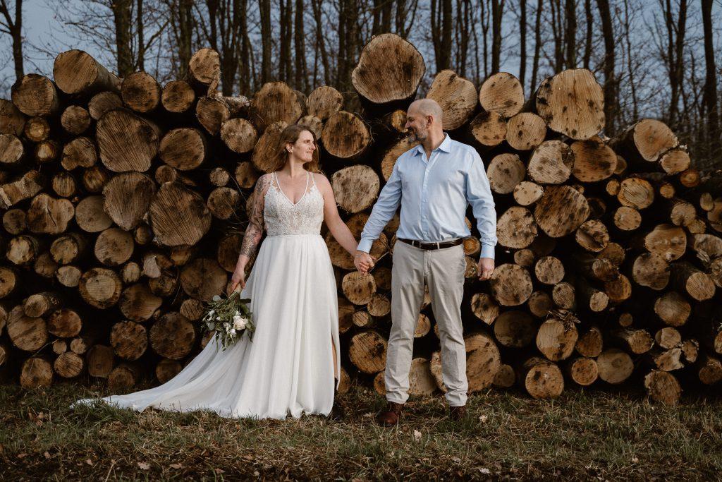 Gerda elopement bruiloft Assepoester