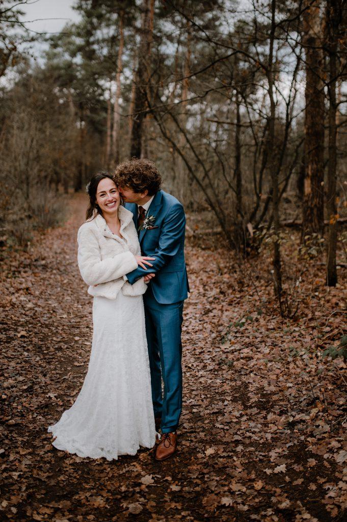 Josta trouwen in de winter