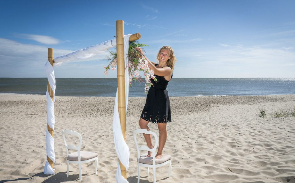 Sophie Brugemann jongste weddingplanner